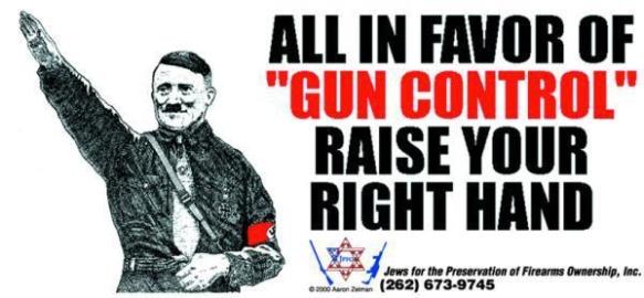 hitler gun control