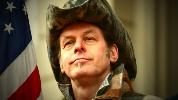 Ted Nugent (woman-hating, gun nut, coward, pedophile Republican - Michigan)