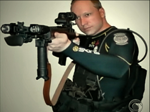 Anders Behring Breivik, poster boy for the Mass Murder Aesthetic
