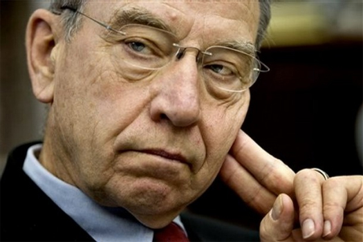 This is Chuck Grassley, one of my Senators - I wrote him, I called him