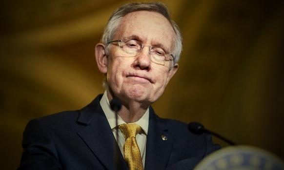 Harry Reid, Senate Majority Leader & Coward