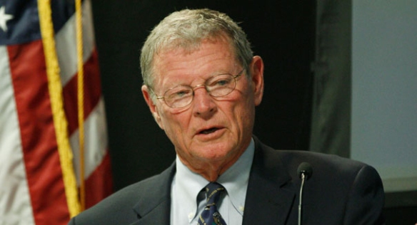 Senator James Inhofe, Uncomfortably Confused Republican