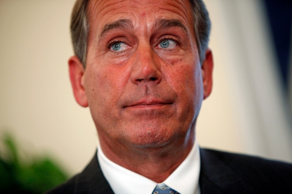 John Boehner - also willing to make an ass of himself