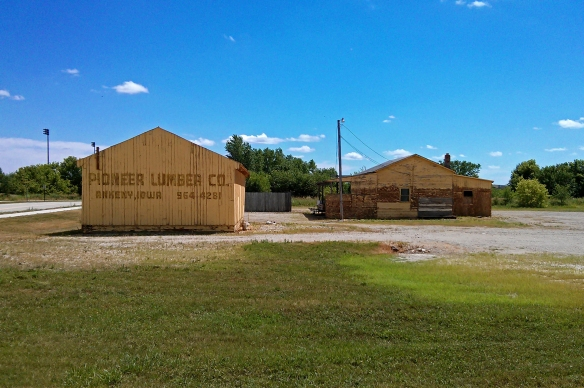 What was once a lumber yard