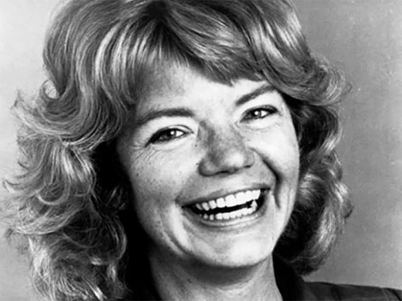 Young Molly Ivins