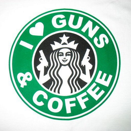 starbucks and guns