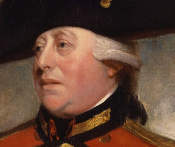 King George III, control freak, Christian