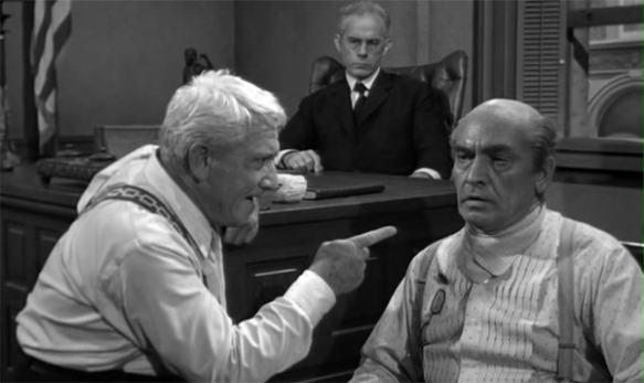Spencer Tracy and Frederic March (Inherit the Wind)