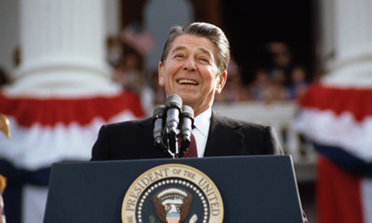 President Ronald Reagan, colossal fuckwit