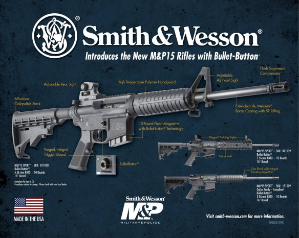 Smith & Wesson .223-caliber M&P-15