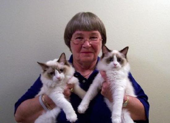 Marion Hammer, pistol-packin' cat fancier.