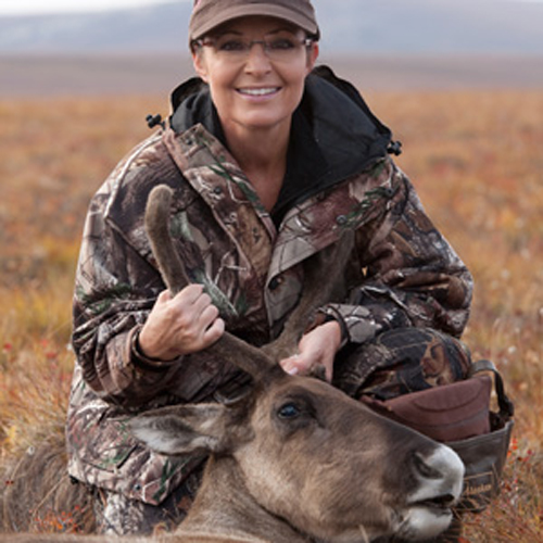 If you do not watch her new show, Sarah Palin will Godfather your ass with an elk's head.