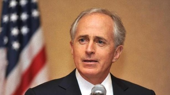 Senator Bob Corker, pampered leech-nurtured addle-pate Republican from Tennessee voted No