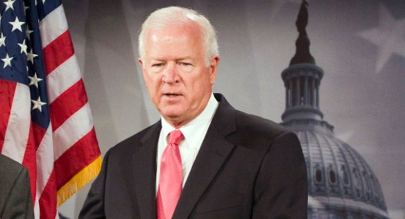 Saxby Chambliss, mewling canker-brained minnow-hearted fuckwit Republican from Georgia voted No