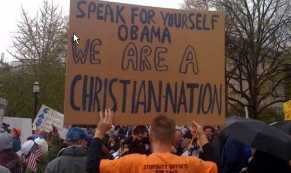 A paralyzed crowd of Christians, too terrified to speak!