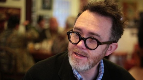 Rod Dreher -- paralyzed after stealing Harry Potter's spectacles! Stupefy!