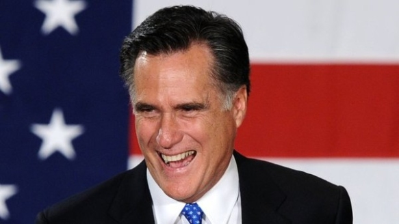 Rich-American Mitt Romney, who hoped one day to transform the US into the sort of nation where he could bank his own money.