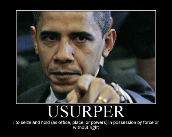 obama usurper