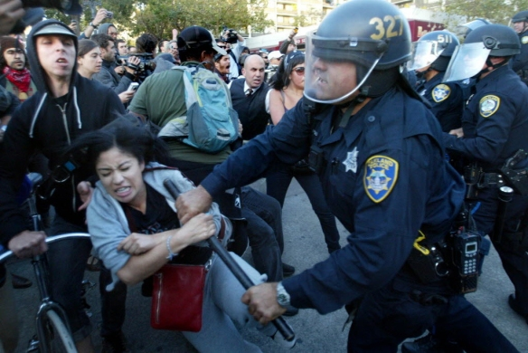 occupy movement brutality
