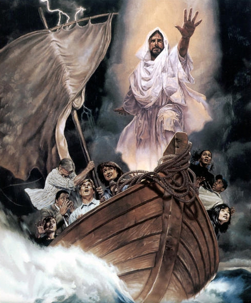 Jeebus and random minorities in a boat in outer space
