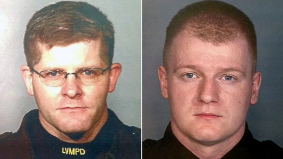 The murdered Las Vegas police officers