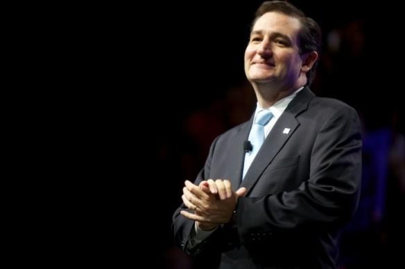 Senator Ted Cruz (R-Potterville) chortling
