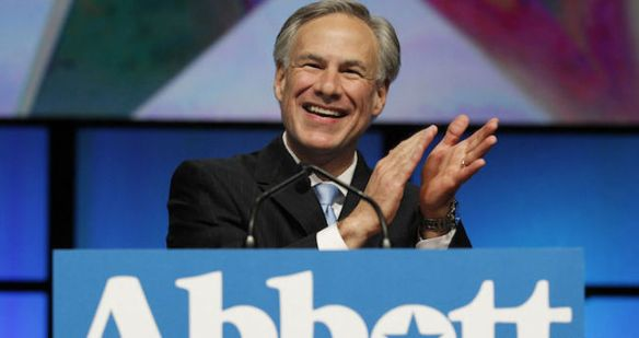 Republican candidate for Governor of Texas, Greg Abbott