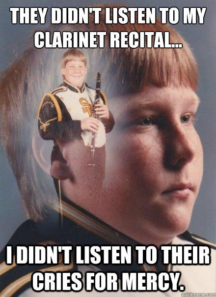 clarinet cries for mercy