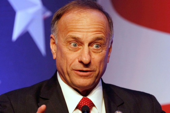 Rep. Steve King (Iowa), unable to operate garden tools.