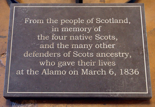 Apparently Scots are almost as good as Texans