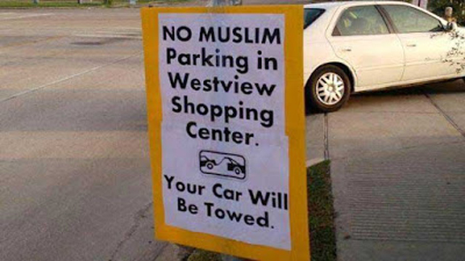 Apparently terrorists prefer free parking