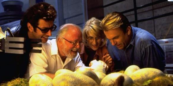 Adam Sandler in his Oscar-winning role of an Ebola-infected T-Rex
