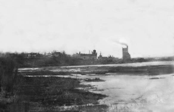 Christian Magnus Eagle Brewery and Bottle Works (circa 1870)