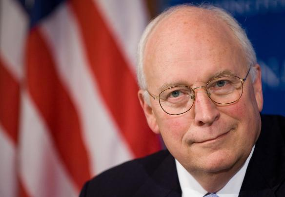 Former Vice President Richard Cheney, coward.