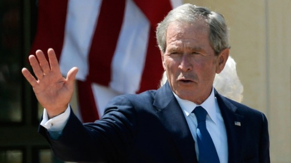 Former President of the United States George W. Bush, coward.