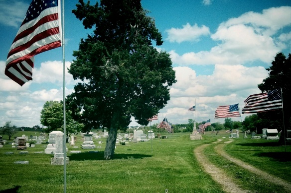 Maxwell, IA. Memorial Day, 2015