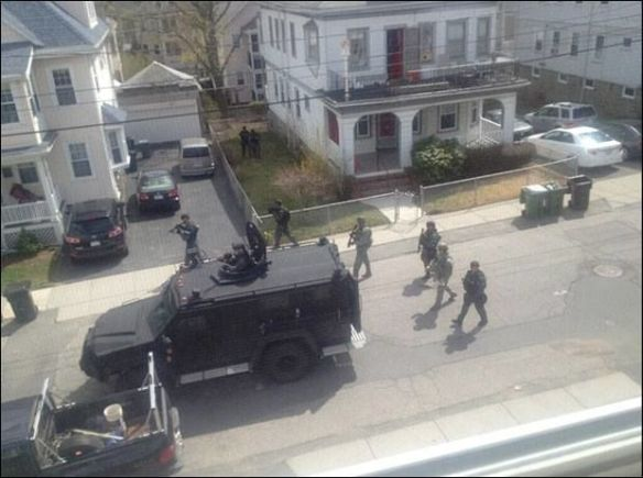 Jade Helm taking over the goddam streets!