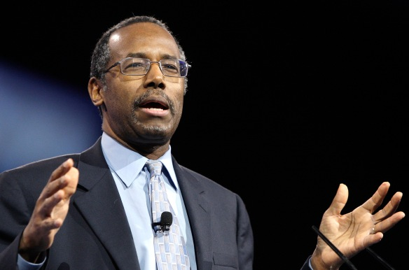Dr. Ben Carson doesn't really LOOK crazy, but apparently is.