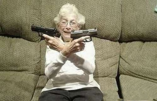 granny with guns