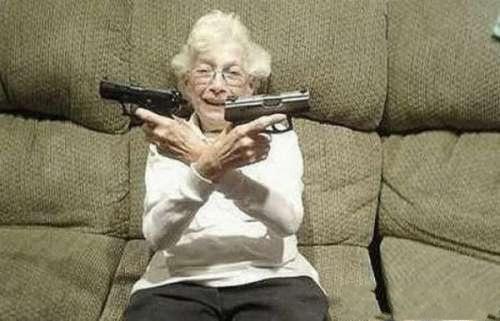 granny with guns