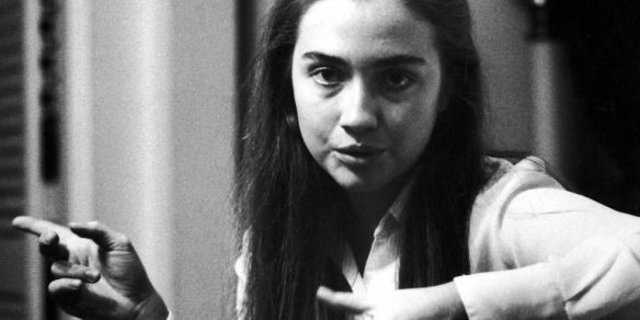 Young Hillary Rodham