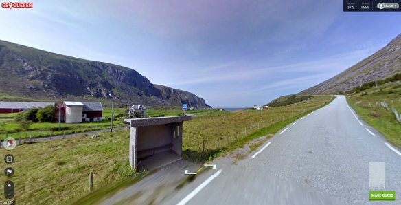 Outside of Arvik, Norway