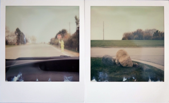 First two shots with the Polaroid 660