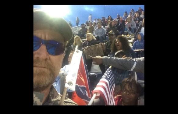 Scott Michael Greene being oppressed.