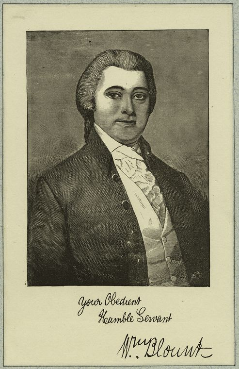 William Blount (Democratic-Republican, Tennessee), corrupt as fuck; did not get impeached.